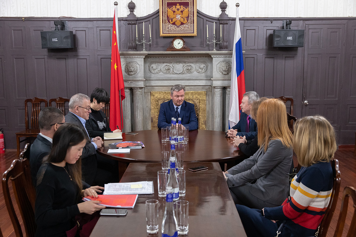 The development of scientific and educational relations of Polytechnic University with universities and companies in China was in the focus of the discussion at the Consulate General of the Russian Federation in Shanghai