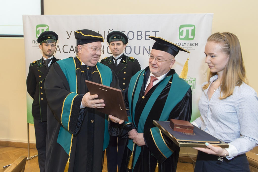 President of TH Wildau Lazslo UNGVARI became a Honorary Doctor of SPbPU