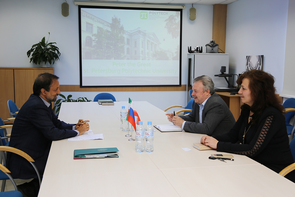 Cooperation between SPbPU and Sharif University of Technology