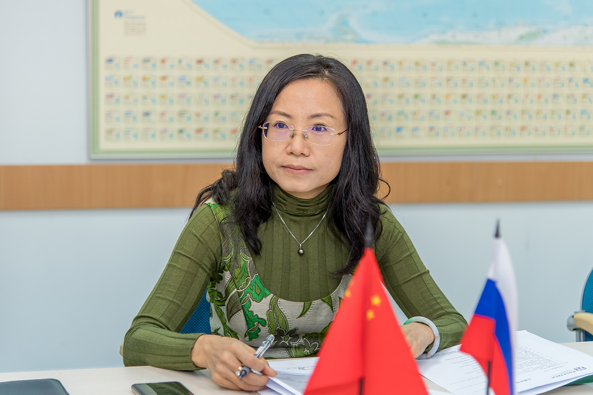 Deputy Director of the Institute for Strategic Cooperation between China and Russia Liu WEI