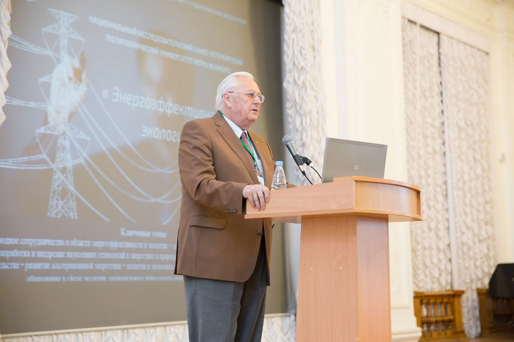 SPbPU President and academician of the Russian Academy of Sciences Mikhail Petrovich FEDOROV