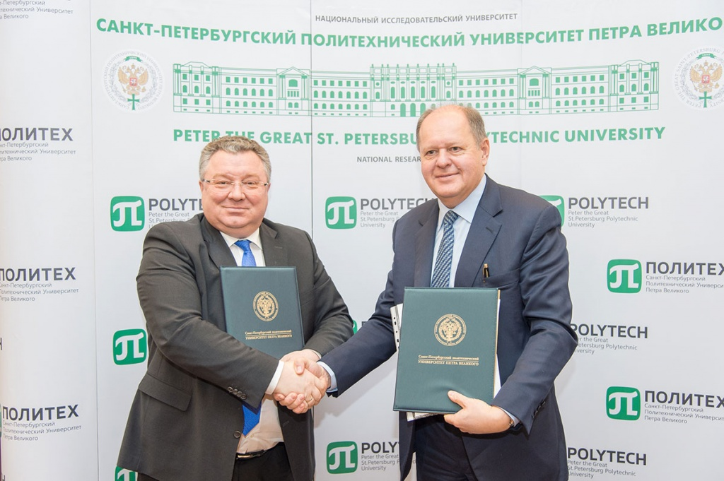 SPbPU and St. Petersburg Clinical Research and Practical Center of Specialized Types of Medical Care (Oncologic) Set Up Scientific and Educational Cluster