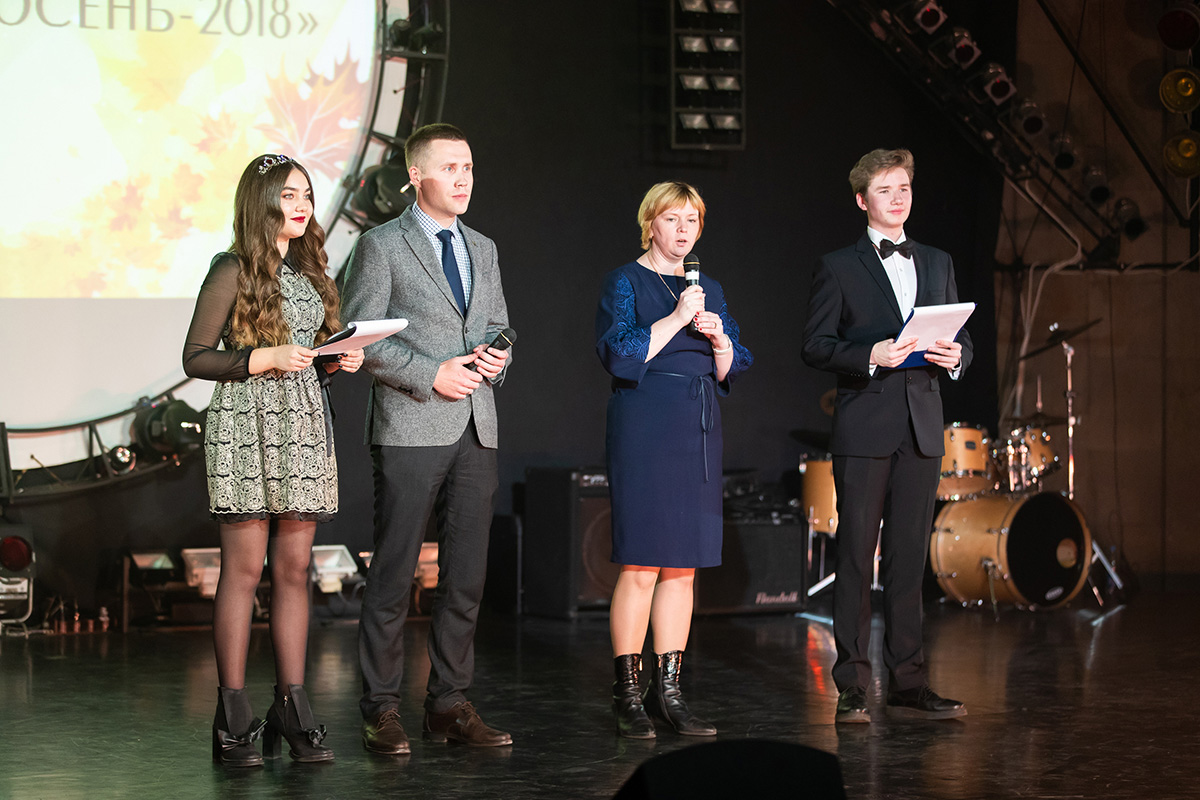 CSHE representative V.N. NIKIFOROVA and vice rector for the youth affairs M.A. PASHOLIKOV greeted the guests of the Festival