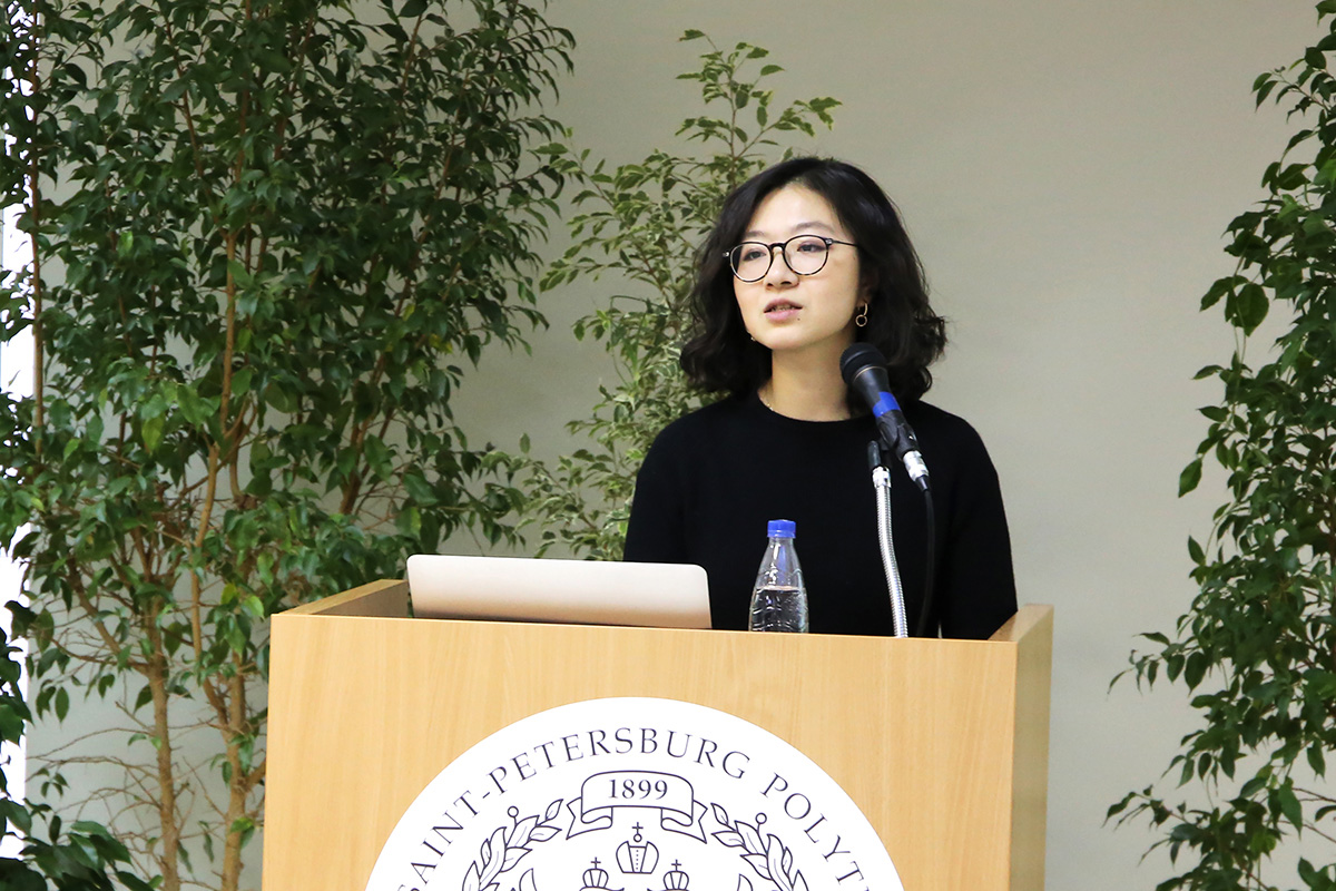 Dr. Jue Wang from Leiden University delivered an open lecture at SPbPU