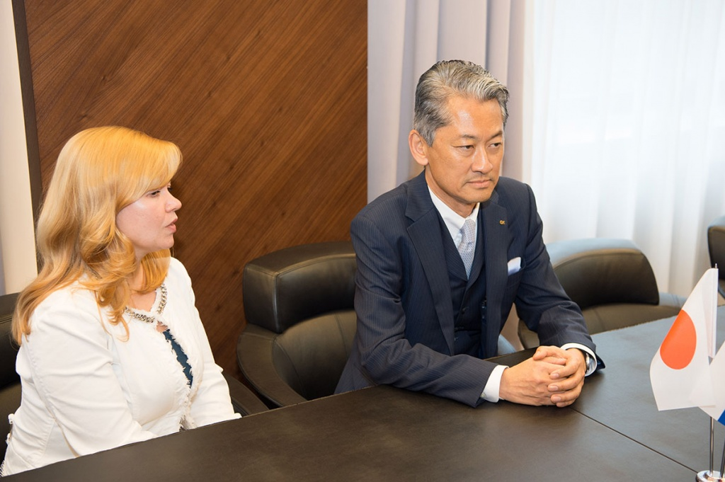 Japanese Designers are Interested in Cooperation with the Polytechnic University