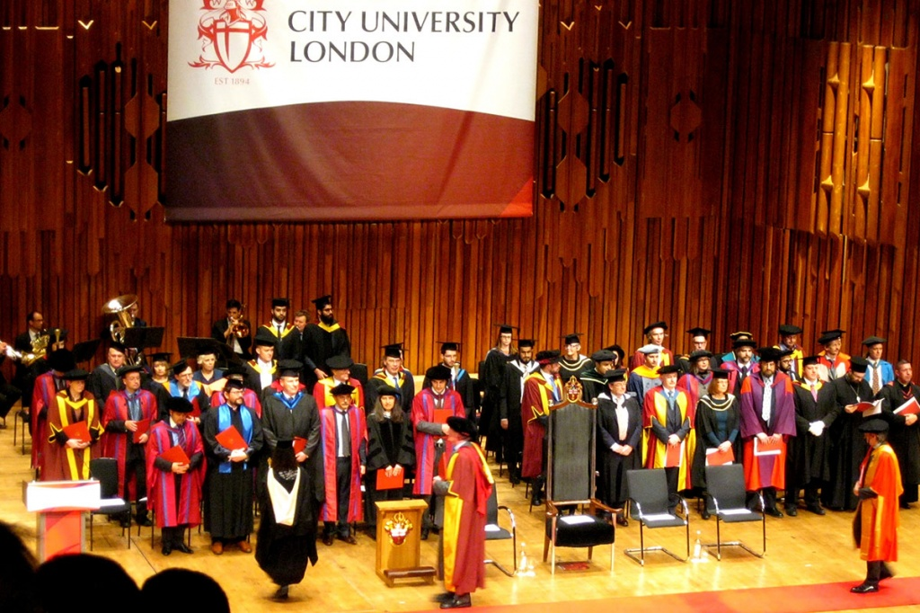 SPbPU employees at City University London