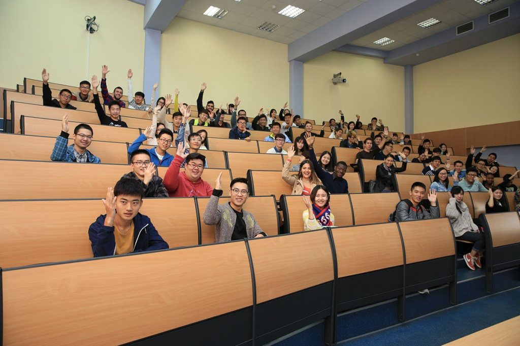 New Semester for International Students Started at SPbPU