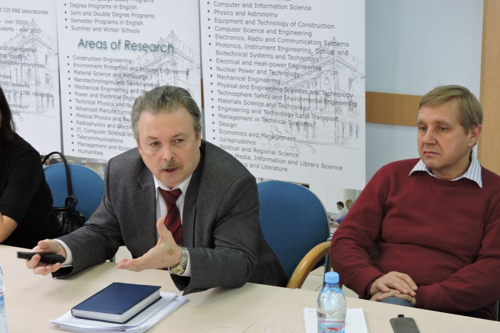 The Working Group Support of Foreign Experts Met at SPbPU