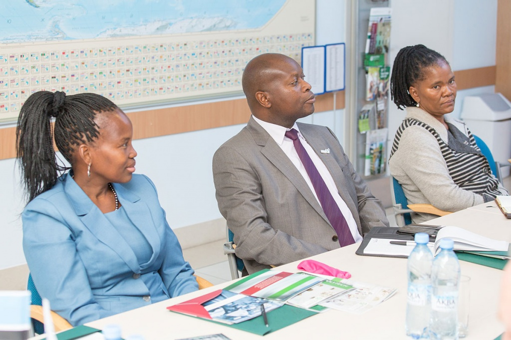 Visit of the Minister of Education of the Republic of Botswana to SPbPU
