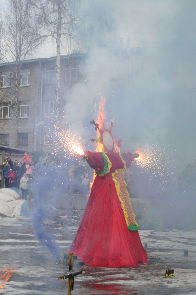 Maslenitsa Festival in the Polytechnic University