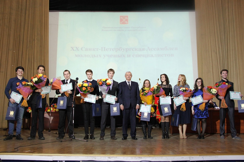 SPbPU tops the competition for grants and scholarships of the St. Petersburg Administration