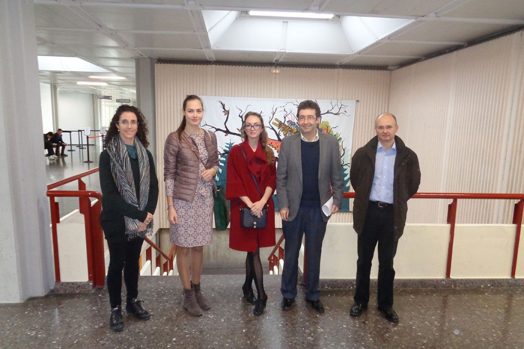 Representatives of SPbPU Visiting the Polytechnic University of Valencia
