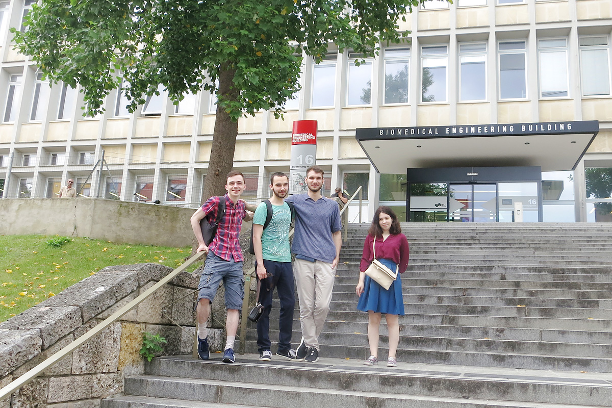 In the fall of 2019, students of SPbPU and TU Graz will present their results at a student conference at SPbPU