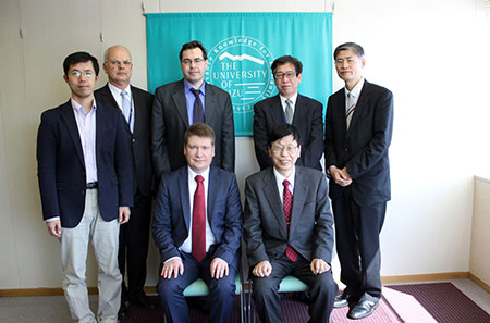 Delegates of St. Petersburg Polytechnic University Visit the University of Aizu