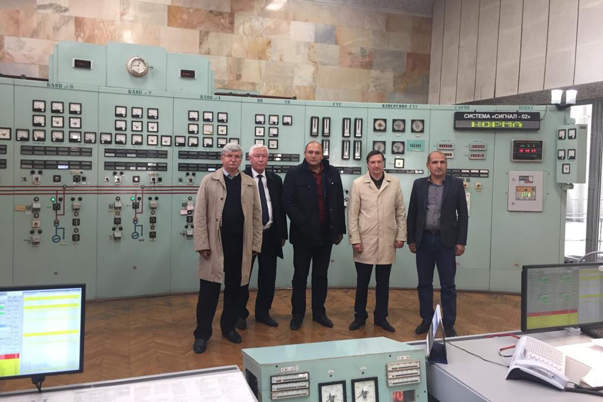 SPbPU delegation visited sites and enterprises of AO Hydroproject