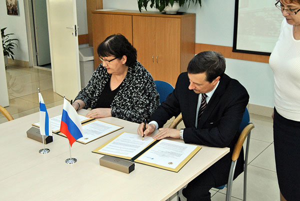 Cooperation Agreement between Saimaa University of Applied Sciences and St. Petersburg Polytechnic University  has been Extended