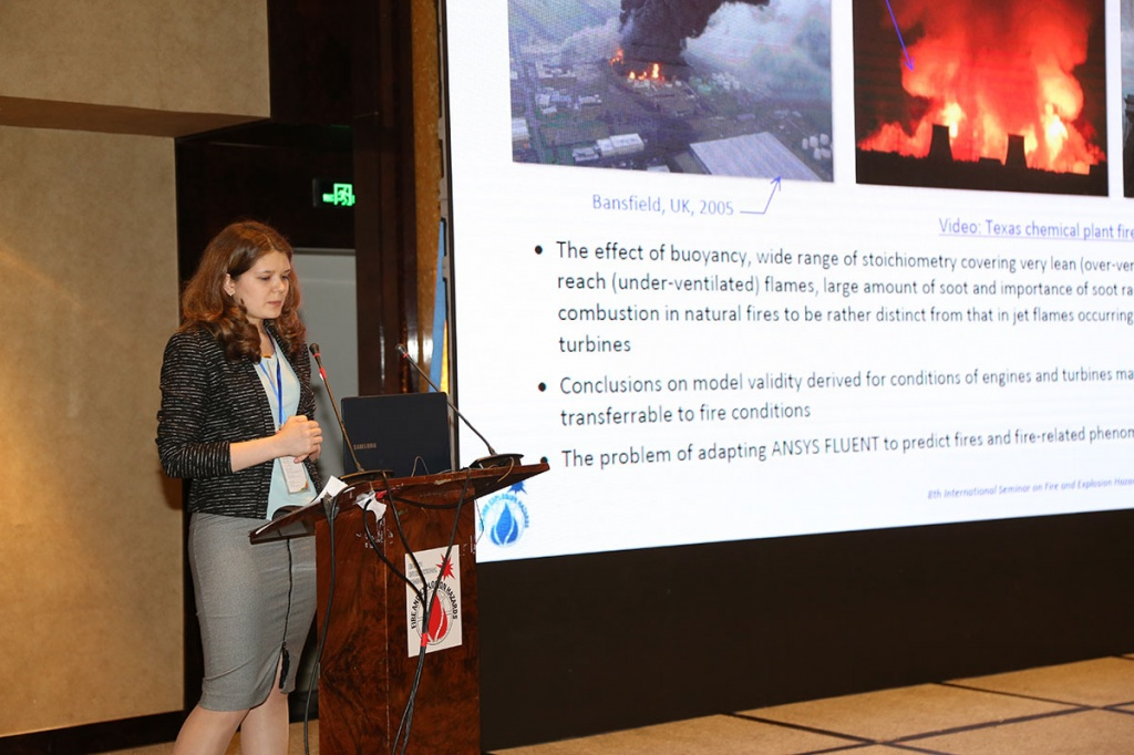 The Best Report at the International Seminar on Fire and Explosion Hazards