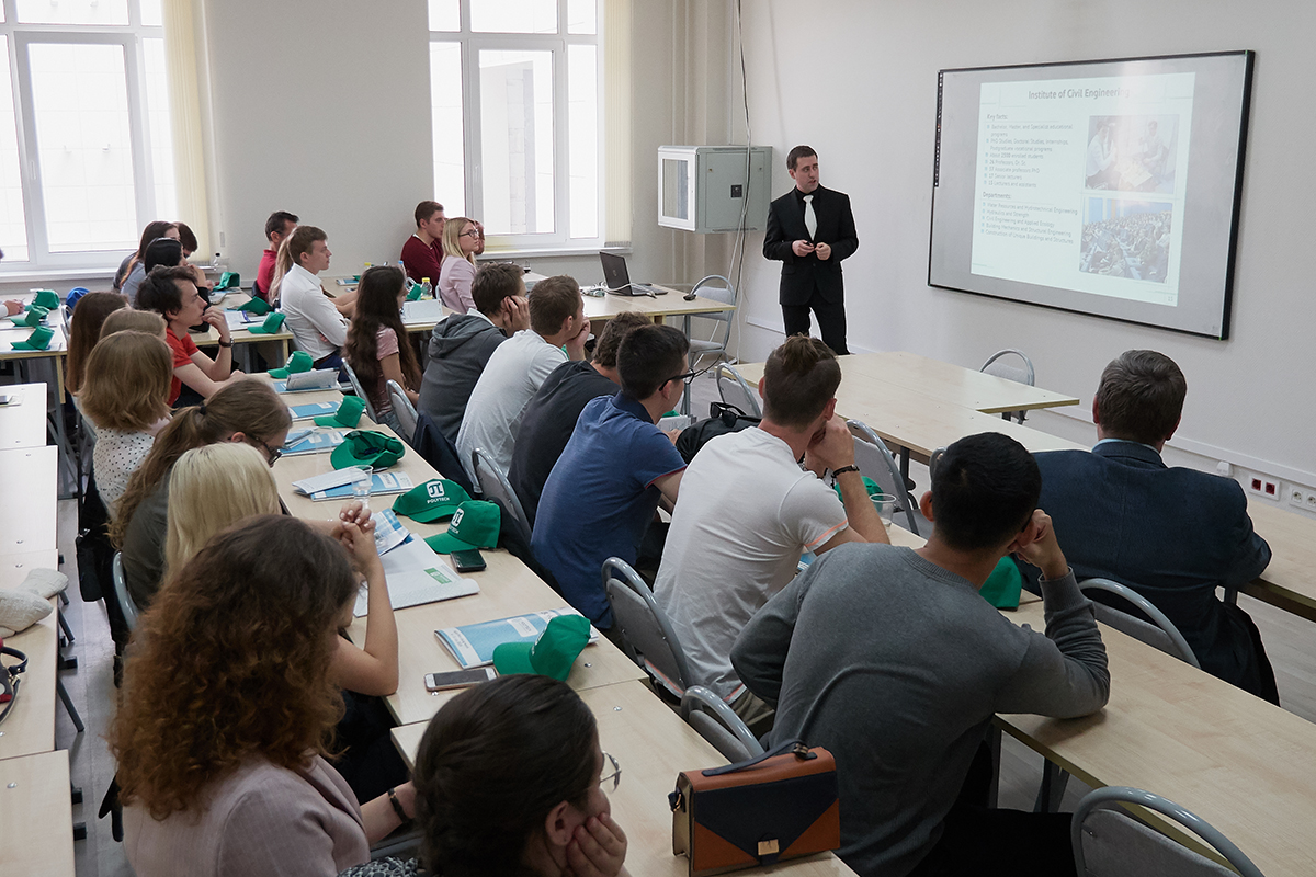 Russian and Austrian Students Master Prospective Construction Technologies at Polytechnic University