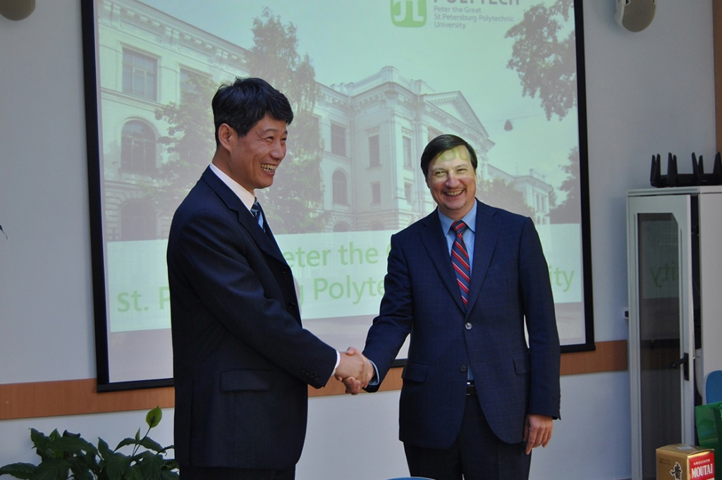 New steps in cooperation between Jiangsu Normal University and SPbPU