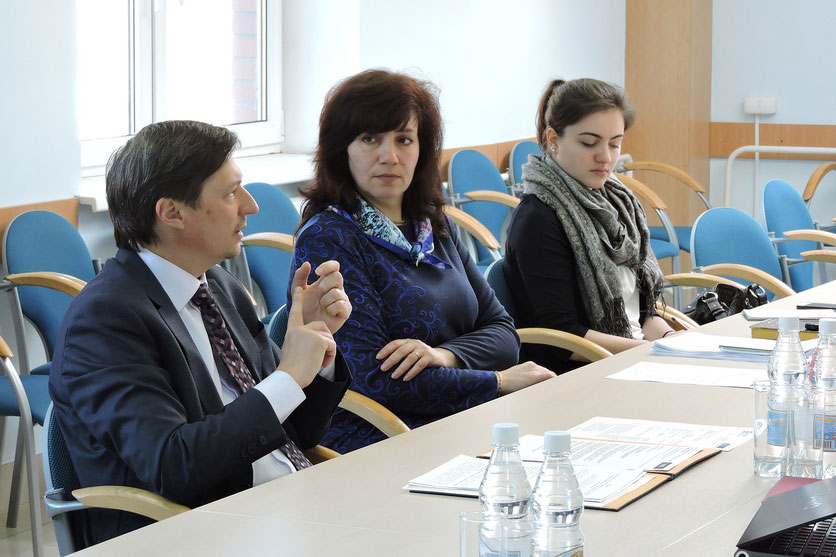 The Visit of Leibniz Delegation of the University of Hannover in SPbPU