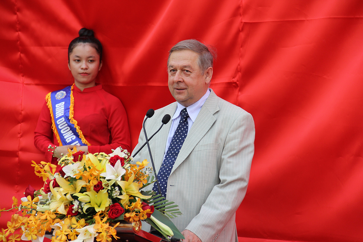 Days of Russian culture and science at Binh Duong University in Vietnam