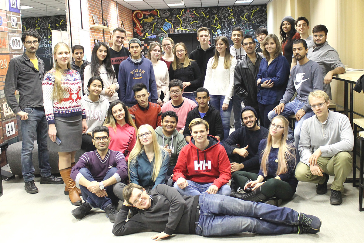 The PolyUnion Club unites international SPbPU students from around the world