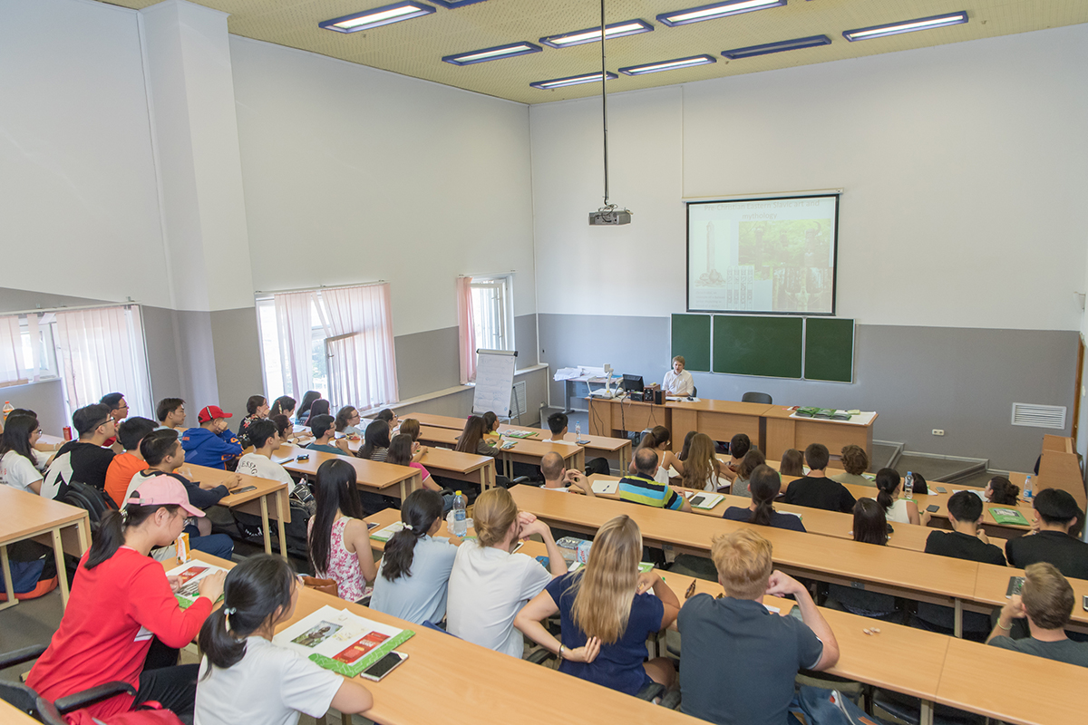 This year over 250 young people came to study Russian as a foreign language at International Polytechnic Summer School