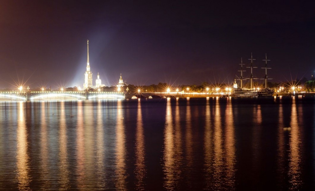 Saint-Petersburg night