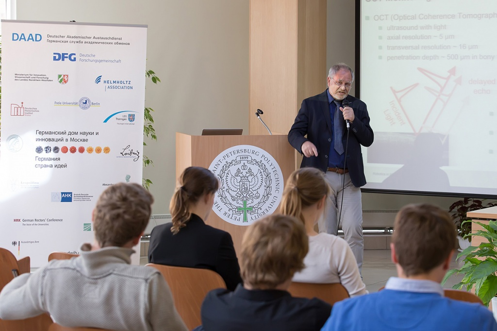 Over 20 scientific papers were presented at the Russian-German seminar  Robotics, automatics and biomechanics