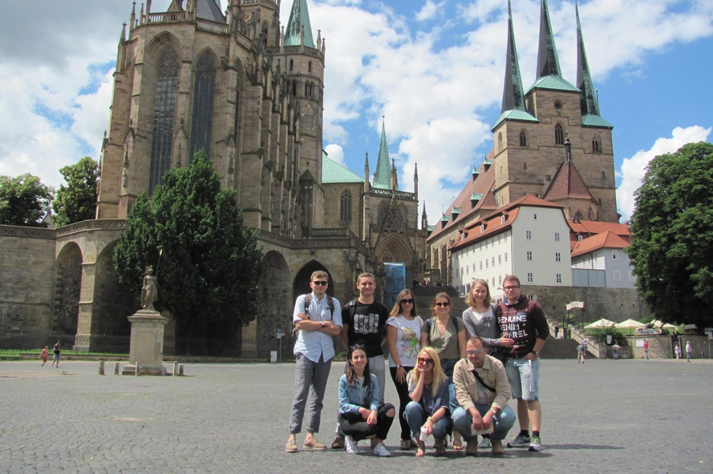 A year in Saxony: a Polytech student shares her impression on the year abroad and local culture