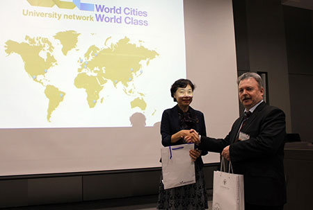 SPbPU presented the concept of the IT Development Club at the seminar in Japan
