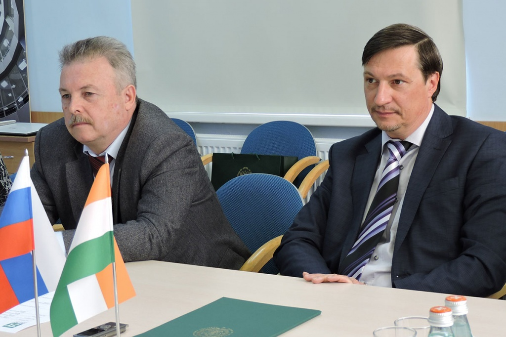 Visit of the Advisor on Science and Technology of the Embassy of India in SPbPU