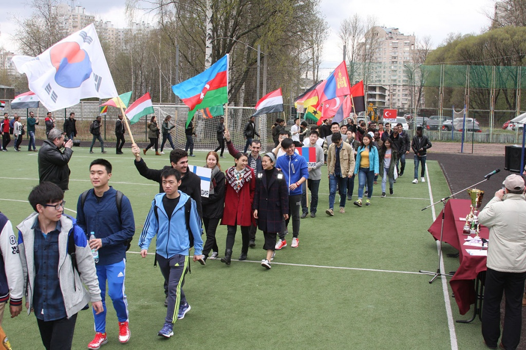 Sport Units Students from Different Countries