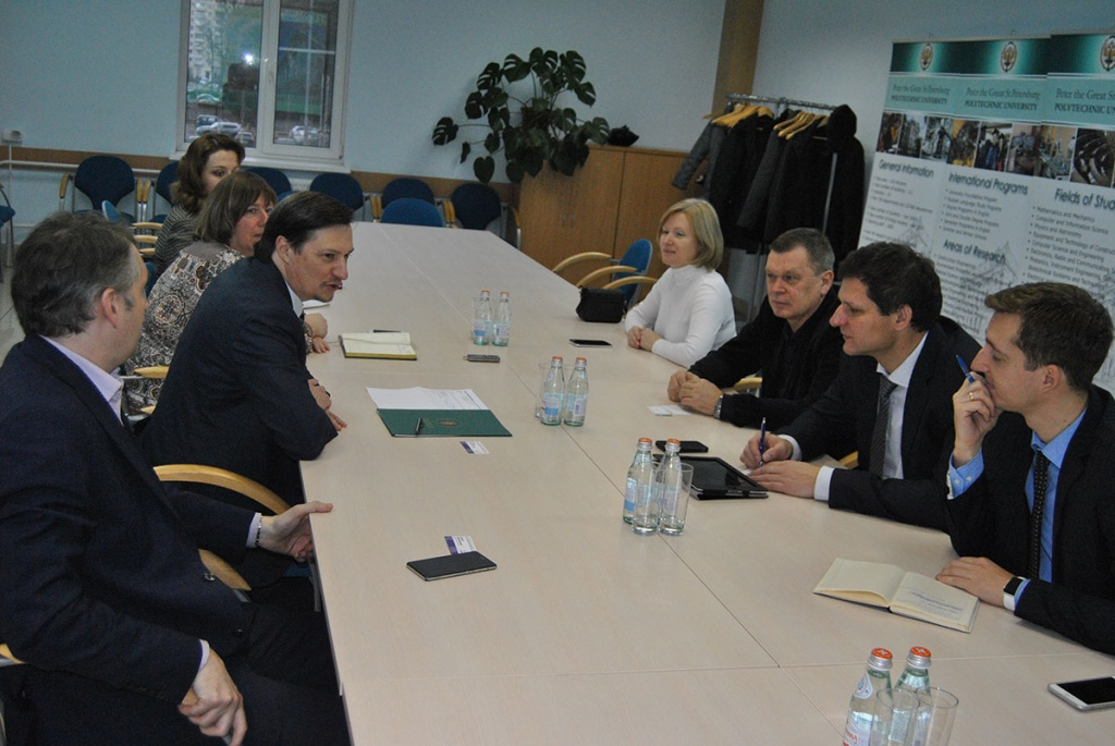 SPbPU discussed the training of personnel for foreign countries with Rosatom State Atomic Energy Corporation