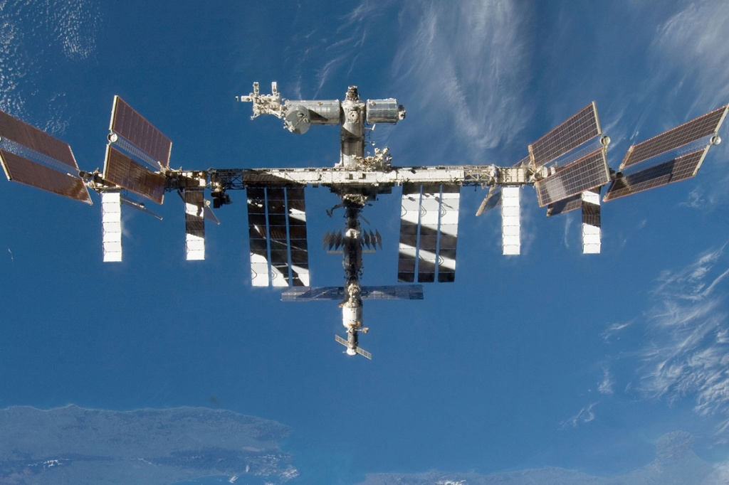 Seen from space: Polytech participates in the International Space Station research program