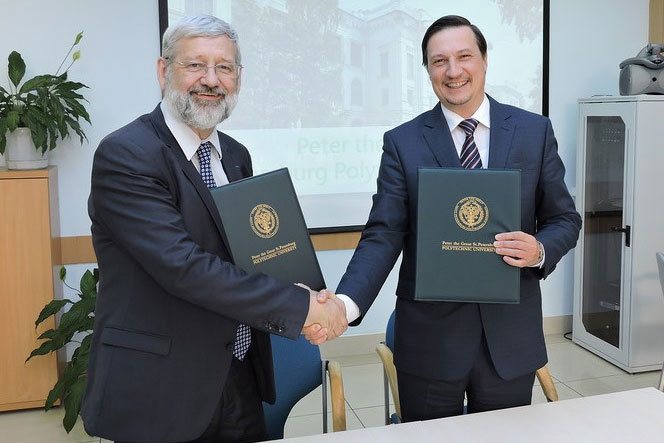 Albi Higher National School of Mines  France  is the New Partner of SPbPU