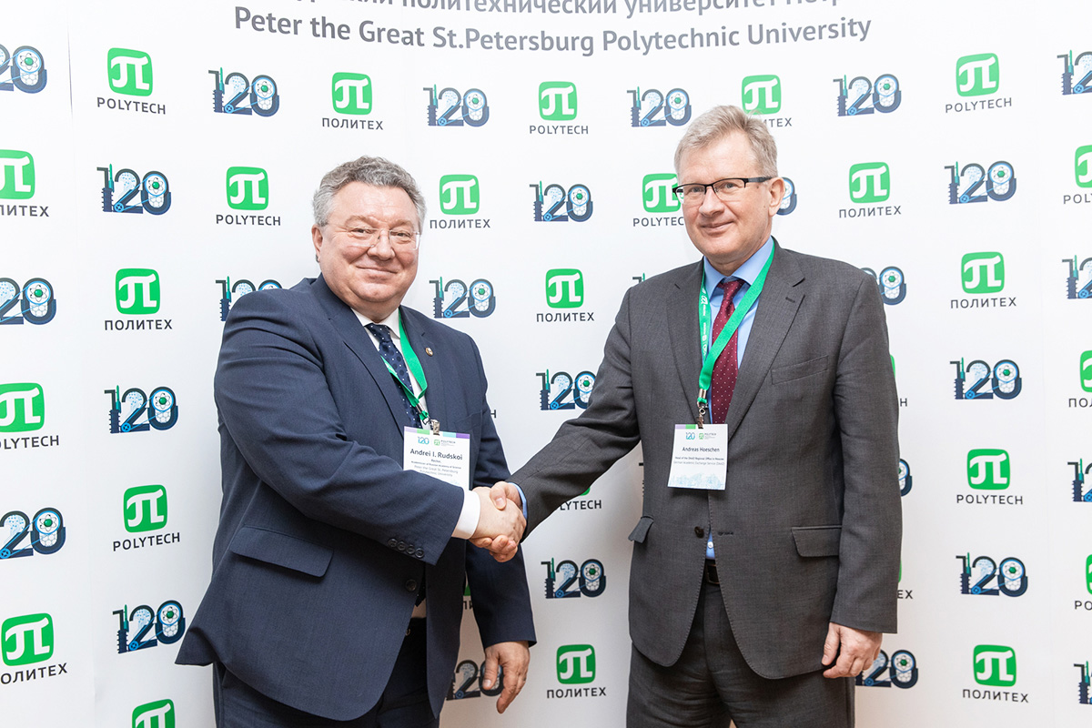 The German Academic Exchange Service (DAAD) was a honorable guest at SPbPU 120th Anniversary