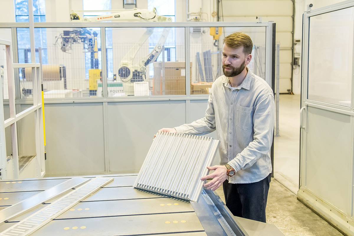 Researchers from Peter the Great St.Petersburg Polytechnic University (SPbPU) invented a durable and compact radiator for lithium-ion batteries, which in the future can be used for electric vehicles. The radiator was developed using friction stir welding technology.