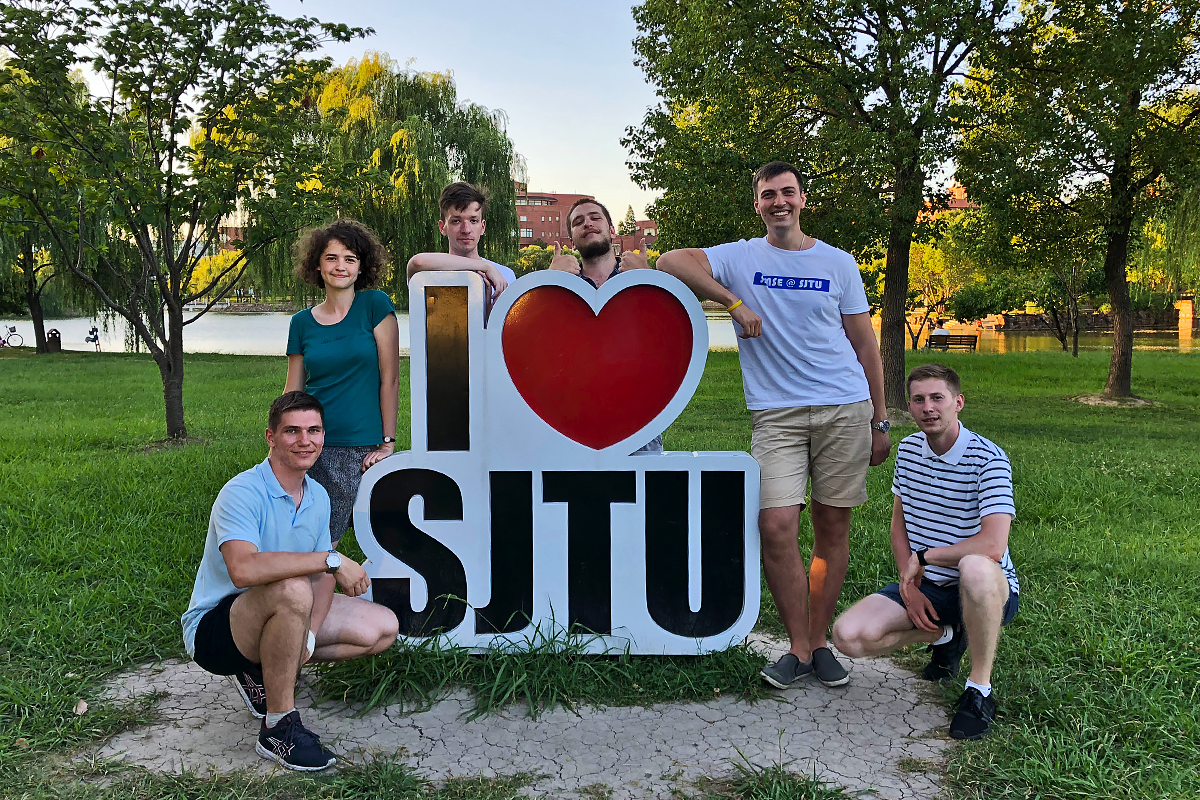 SPbPU IMMET students went to study at the SJTU Summer School