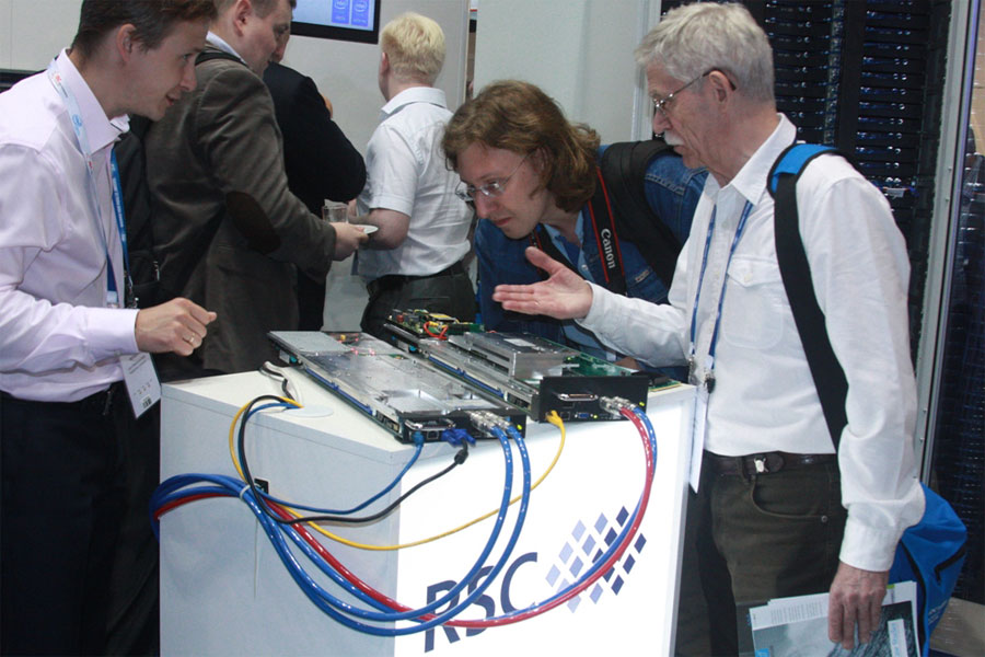 Supercomputer Center Polytechnic Successfully  Presented at International Conference ISC'15
