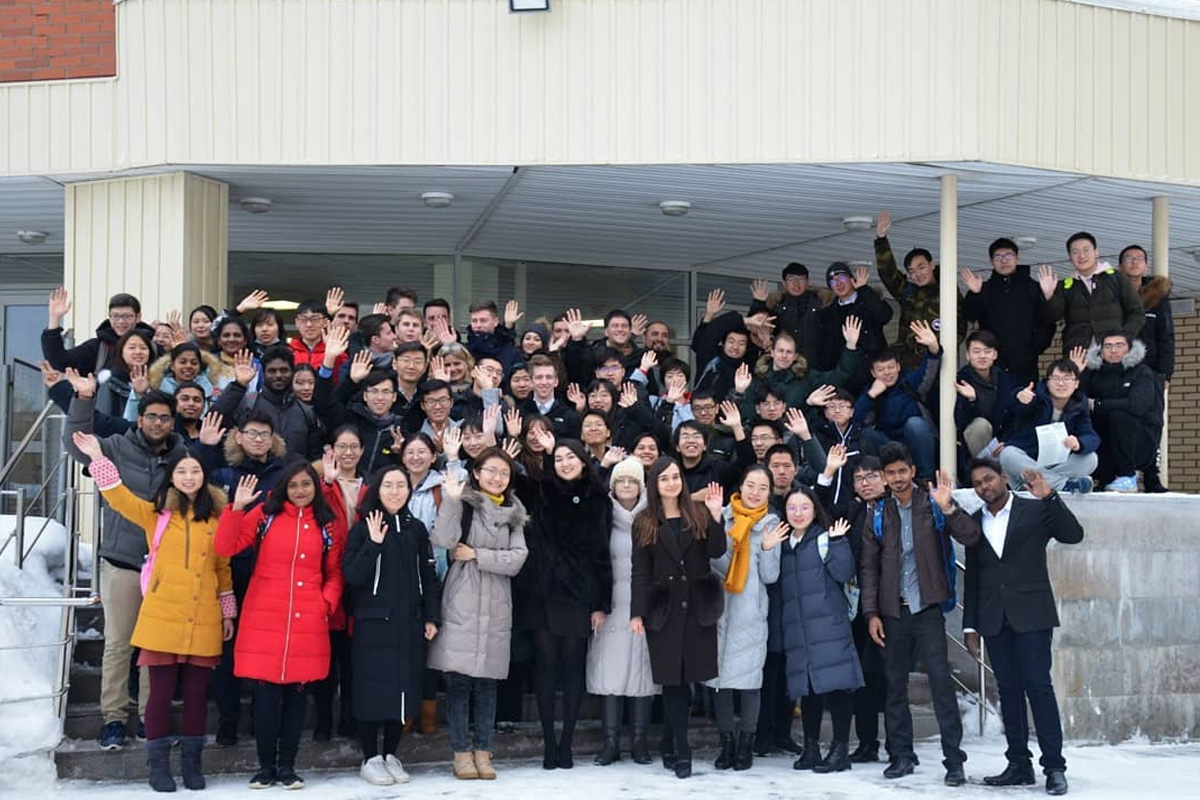 In 2019, students of the International Polytechnic Winter School studied new educational modules