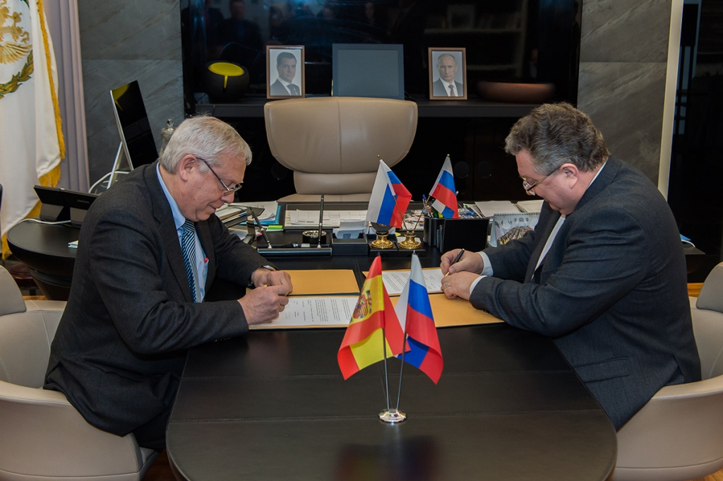 Polytech enhances science and education cooperation with Spain