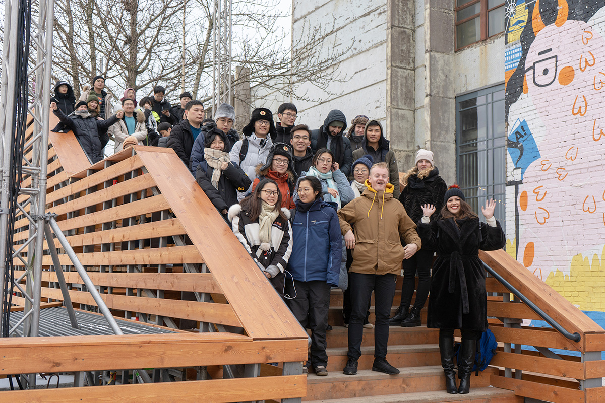 100 Chinese students trained at the International Polytechnic Winter School