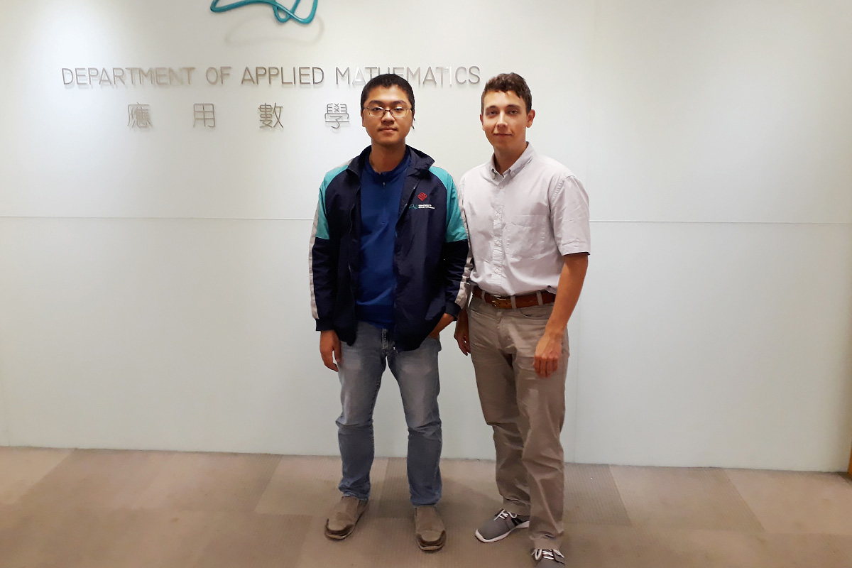 The PolyU hosting party selects a scientific tutor to each project participant