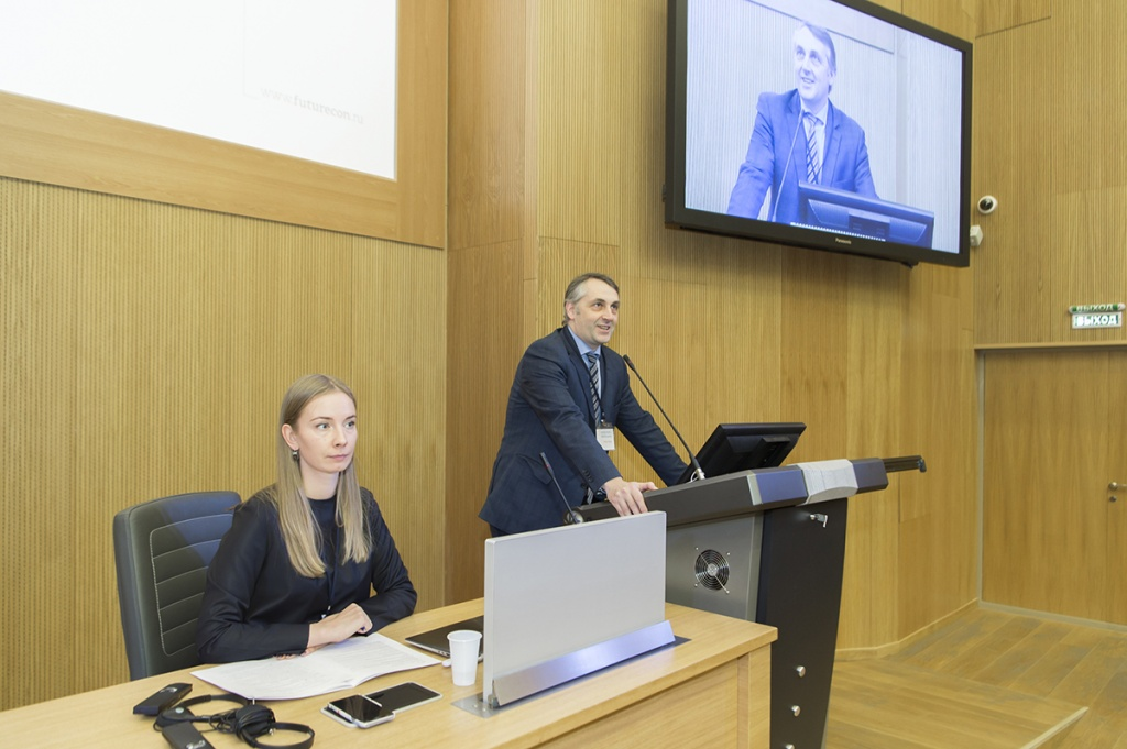 Vice-rector for research of the Polytechnic University, Vitaly Sergeev, opened the conference
