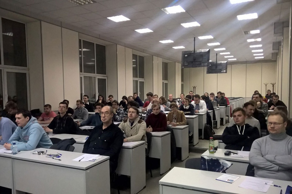 SPbPU Graduate School of Engineering Held a Seminar for Mobile Application Developers