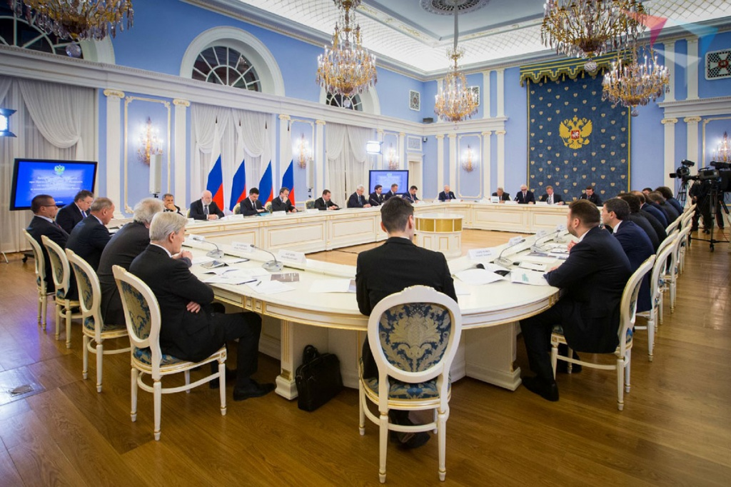 SPbPU Rector A.I. Rudskoy Took Part in the Meeting of the Presidium of the Presidential Council on Economic Modernization