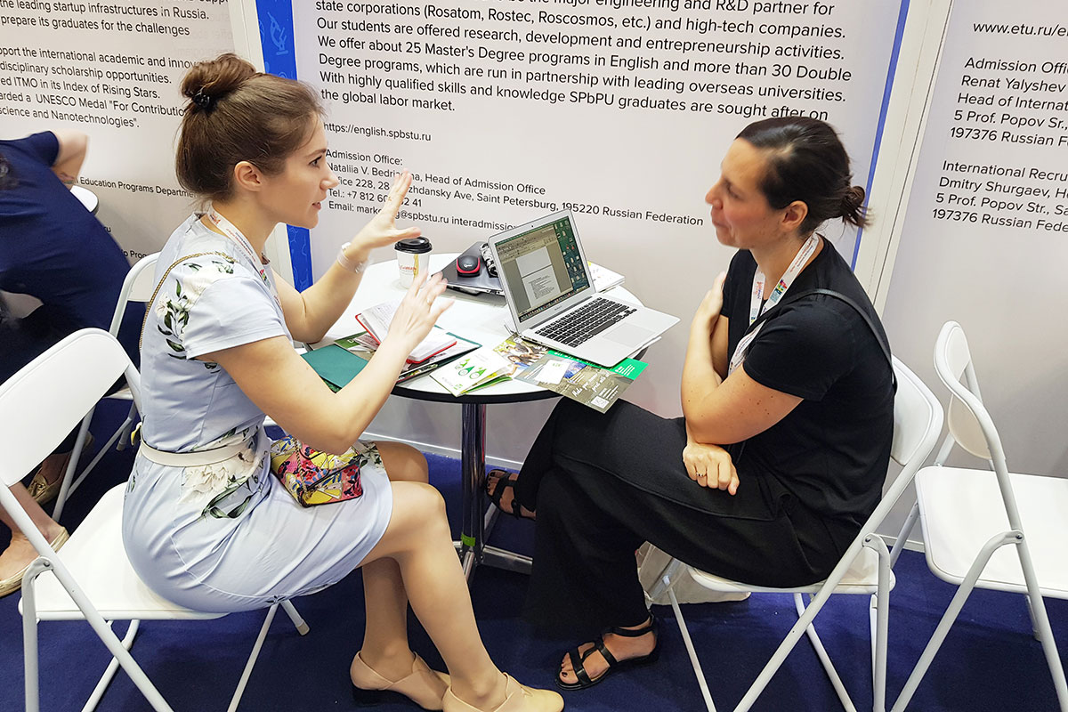 At APAIE 2019, the SPbPU team established contacts with new potential partners
