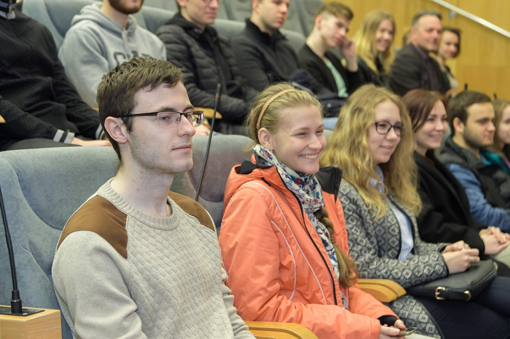 President of Stuttgart University saw the true value SPbPU projects and gave a lecture for Polytech students
