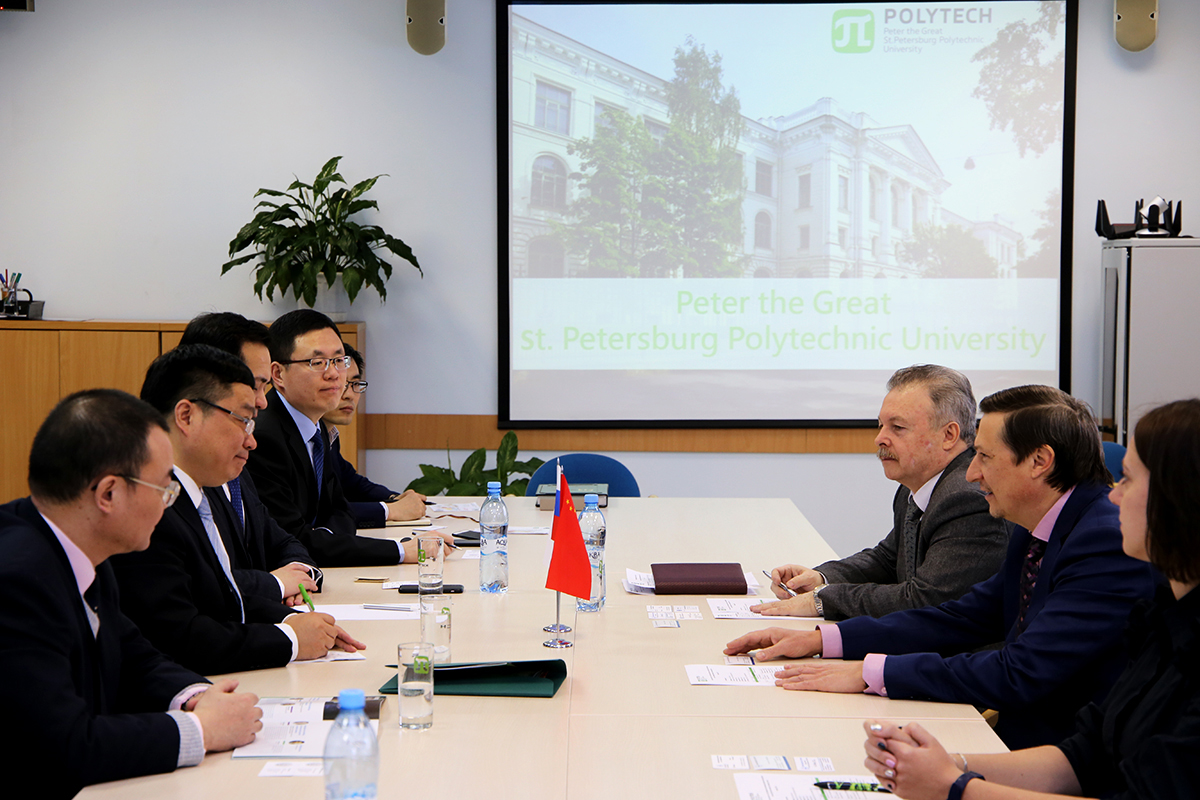 Development of Cooperation between SPbPU and Harbin Engineering University